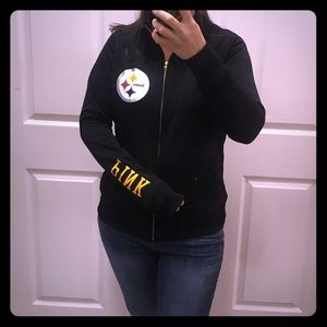 PINK by VS Pittsburgh Steelers jacket NFL